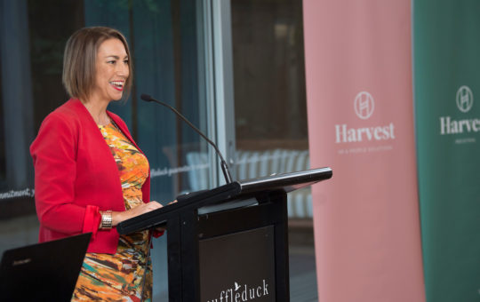 Maree Herath at Harvest HR Index