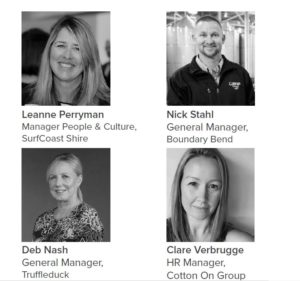 Meet the Harvest HR Roundtable Expert Panel at the July 2019 Event